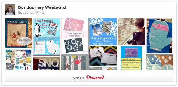 Educational Winter Pinterest Board