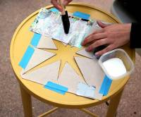 DIY Mid Century Inspired Table, Comic Book Style - Our ...