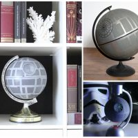 Everyone should have a DIY Death Star Globe