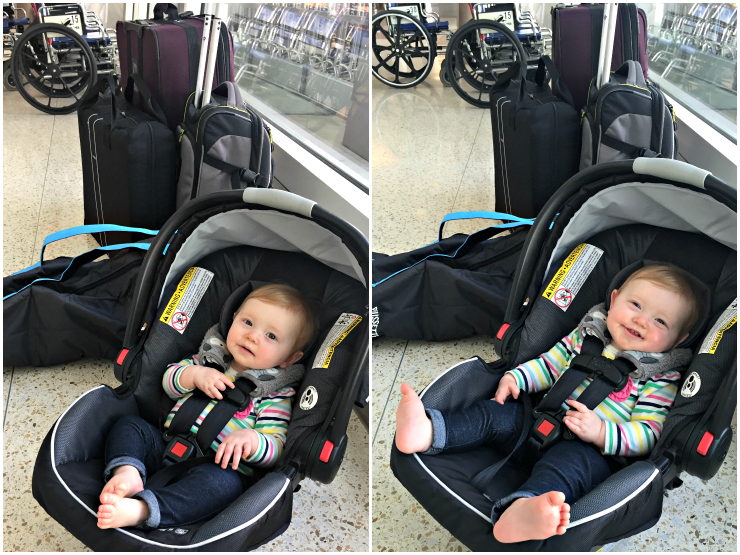 Infant Car Seat Travel Bag Everything To Know Before Flying With A Baby Our Next