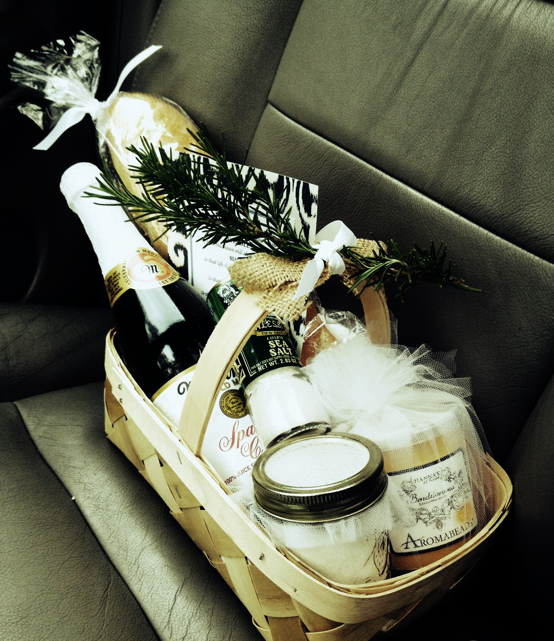 What To Buy For Housewarming Party Housewarming Gift Basket A New Old Tradition Our Painted Nest