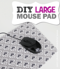 Make Your Own Large DIY Mouse Pad