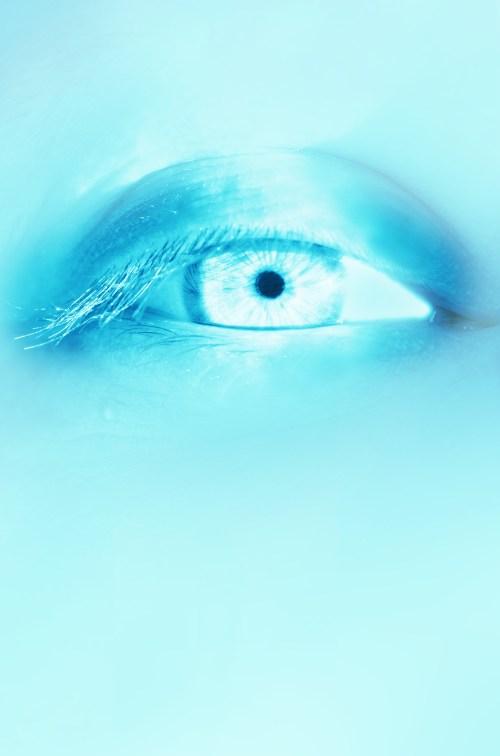 Medium Of Ice Blue Eyes