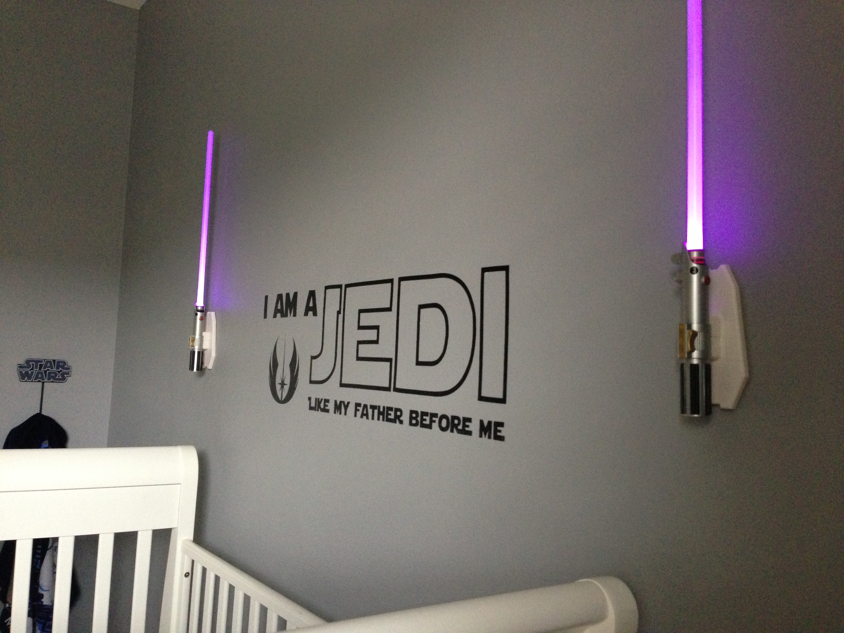 Idee Deco Chambre Star Wars The Evolution Of A Babys Room Its Finished Ours To