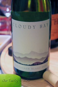 New Zealand Sauvignon Blanc from Cloudy Bay Vineyards in Marlborough