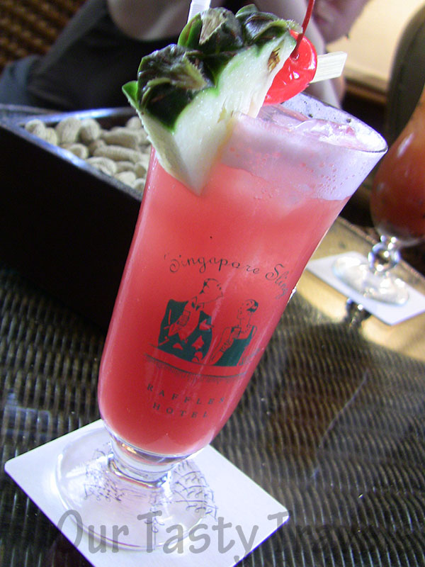 Original Singapore Sling, Long Bar, Raffles Hotel, Singapore