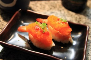 Photo of the Week: Shrimp Boat Sushi from Aki's Sushi in Long Beach, California