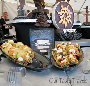 Photo of the Week: Chocolate Tacos at TBEX in Keystone, CO