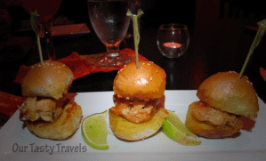 Photo of the Week: Lobster Sliders at Casa Picasso on Ambergris Caye, Belize