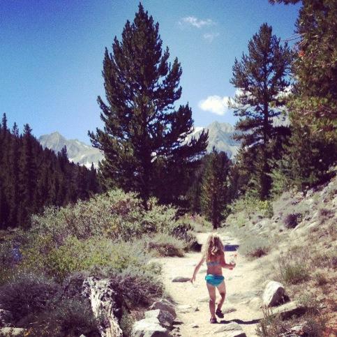 She hates, hates, hates hiking