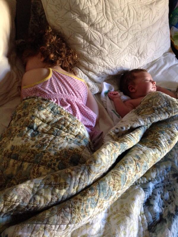 kids sleeping at same time
