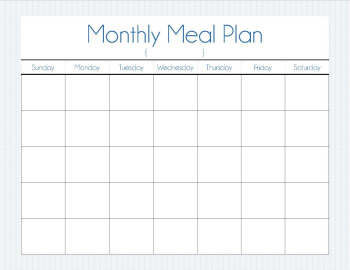 Quality Control Plan Template 7 Free Word Pdf Monthly Meal Plan Our Way Of Normal