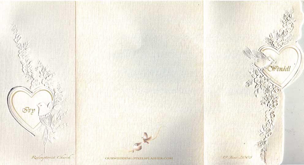 Sp Letter Wallpaper 3d Invitation Card Designs Wendell Amp Ivy Wedding