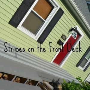 front deck paint