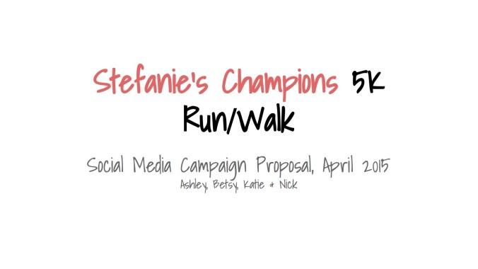 Stefanie Spielman Fund Final Pitch 1