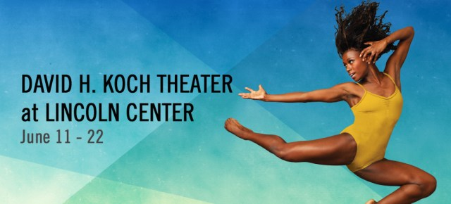Alvin Ailey American Dance Theater Returns to Lincoln Center
