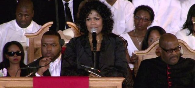 Gospel Sunday: Don't Cry For Me- Cece Winan Live from Whitney Houston's Funeral : With Special Dance Performance