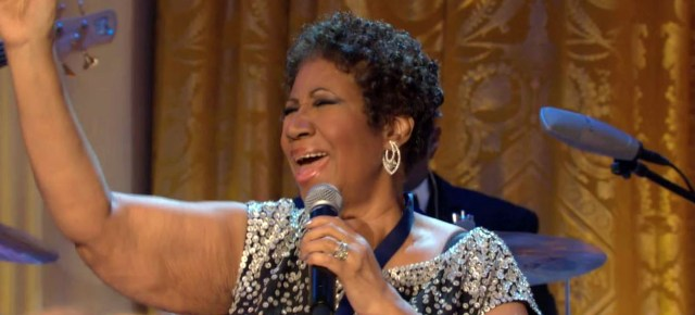 9/21/14 O&A Gospel Sunday: Amazing Grace- Aretha Franklin from the Women of Soul White House Performance