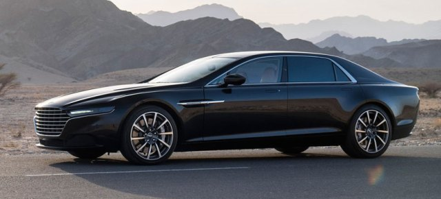9/6/14 O&A With WaleStlyez: Aston Martin Shows New Lagonda Sedan