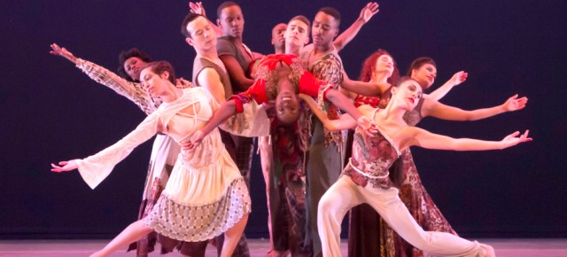 12/17/14 O&A Dance: REVIEW ODETTA- Alvin Ailey American Dance Theater