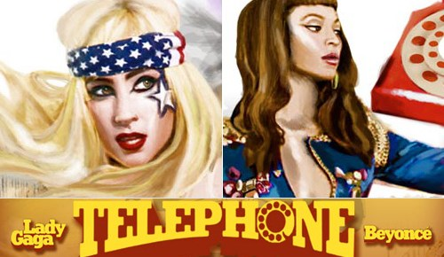 1/10/14 O&A DIVA ALERT! Lady Gaga- Telephone Featuring Beyonce