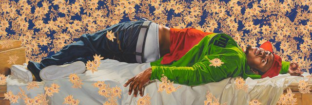 2/28/15 O&A Its Saturday Anything Goes: Kehinde Wiley: A New Republic at the Brooklyn Museum