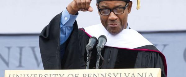3/3/15 Inspirational Tuesday: Denzel Washington's Commencement Speech