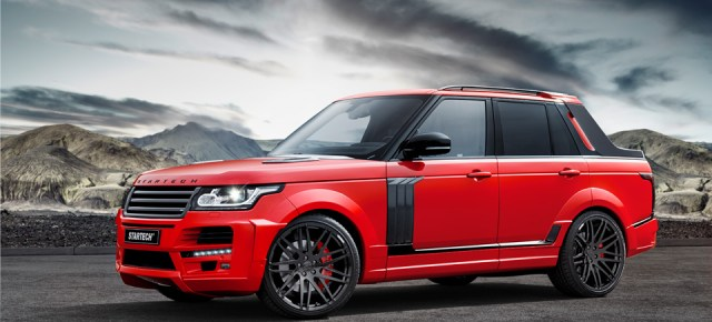4/28/15 O&A With WaleStylez- Automobile: Brabus Range Rover Pickup