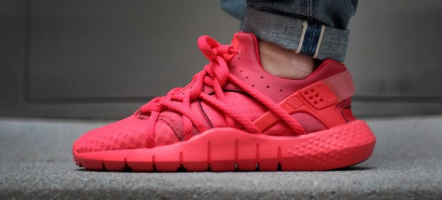 "4/14/15 O&A With WaleStylez- Fashion: Nike Huarache NM ""Red"""