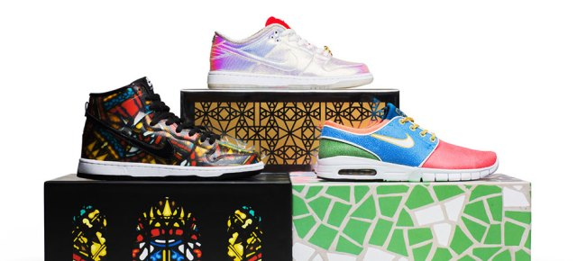 7/24/15 O&A With WaleStylez- Fashion: Concepts and Nike SB Release The Grail Collection on July 25