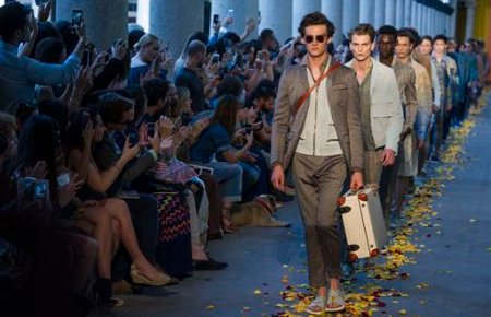 7/25/15 O&A Its Saturday- Anything Goes: Missoni Menswear Spring/ Summer 2016 Collection