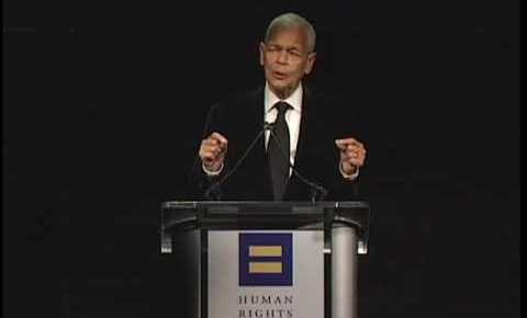 8/18/15 O&A Inspirational Tuesday: Julian Bond speaking at HRC Los Angeles Dinner