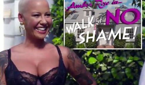 10/7/15 O&A NYC Wildin Out Wednesday: Walk Of No Shame with Amber Rose