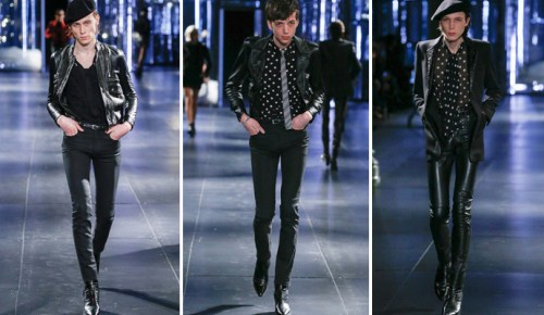 10/3/15 O&A NYC Fashion- Its Saturday- Anything Goes: Saint Laurent Men Fall/Winter 2015-16 Paris Men's Fashion Week