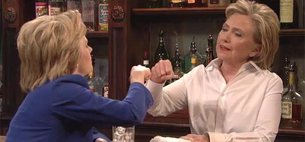 10/8/15 O&A NYC Comedy Extra: Hillary Clinton Bar Talk – SNL