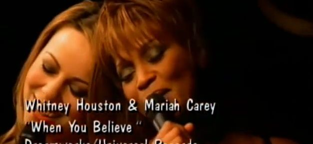 11/18/15 O&A NYC Throwback Thursday: Whitney Houston and Mariah Carey – When You Believe