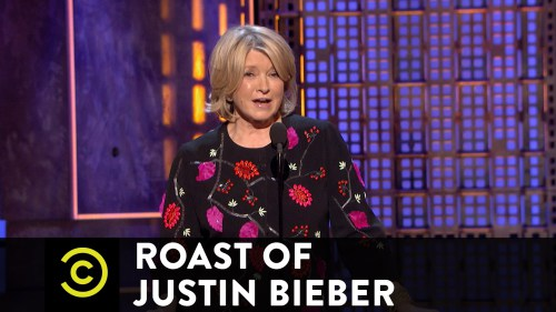 12/2/15 O&A NYC Wildin Out Wednesday: Martha Stewart at the Justin Bieber Comedy Central Roast