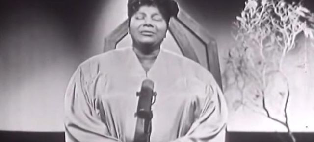1/16/16 O&A NYC GOSPEL SUNDAY: Mahalia Jackson- Lord Don't Move The Mountain (1958)