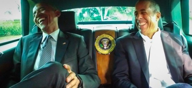 1/3/15 O&A NYC Wildin Out Wednesday: President Obama and Jerry Seinfeld- Comedians In Cars Getting Coffee