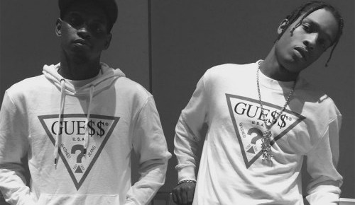 "1/21/16 O&A NYC With WaleStylez- Fashion: A$AP Rocky and GUESS Team Up on '90s Throwback ""GUE$$"" Collection"