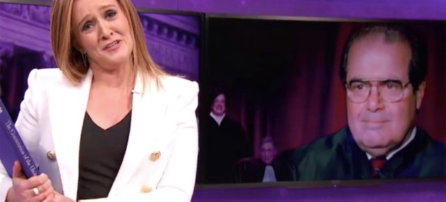 2/16/16 O&A NYC COMEDY: Full Frontal with Samantha Bee- Scalia Dies and the Republicans Debate