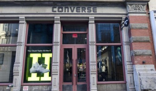 2/22/16 O&A NYC WITH WaleStylez- FASHION: Converse Opens World Biggest Store In New York