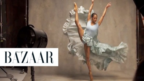 2/12/16 O&A NYC SHALL WE DANCE FRIDAY: First Look At Misty Copeland Channeling Edgar Degas For Harper's Bazaar