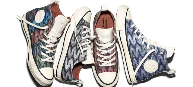 3/7/16 O&A NYC WITH WaleStylez FASHION: Converse And Missoni Zigzag Into Spring
