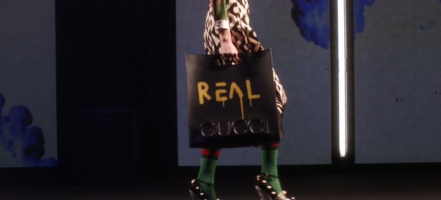3/3/16 O&A NYC WITH WaleStylez Fashion: GucciGhost Walks The Catwalk At The Gucci 2016 Fashion Show