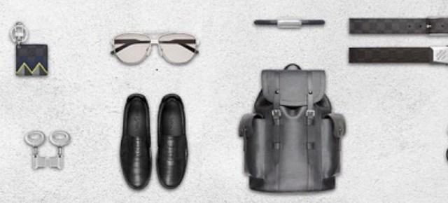 3/28/16 O&A NYC FASHION: Louis Vuitton Men's Spring 2016 Accessories