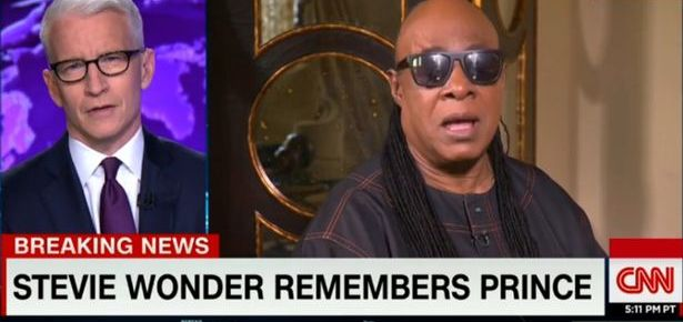 4/23/16 O&A NYC SATURDAY MORNING CONCERT: Stevie Wonder Performs Purple Rain- A Tribute For Prince