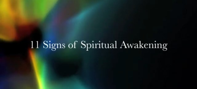 4/11/16 O&A NYC INSPIRATIONAL TUESDAY: 11 Signs of Spiritual Awakening