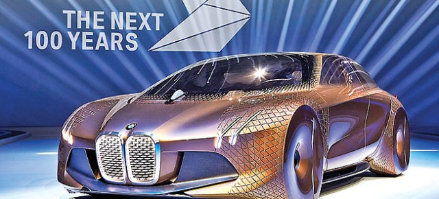 4/21/16 O&A NYC AUTOMOBILE: BMW Vision Next 100 – Interior Exterior and Drive
