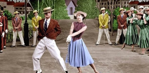 8/22/16 O&A NYC HOLLYWOOD MONDAY: American In Paris- Gene Kelly and Leslie Caron